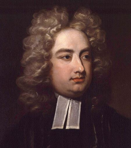 The very Reverend Jonathan Swift, 1667-1745. Ritratto di Charles Jervas.