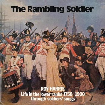 "Copertina di ""The Rambling Soldier"" di Roy Harris, 1979"