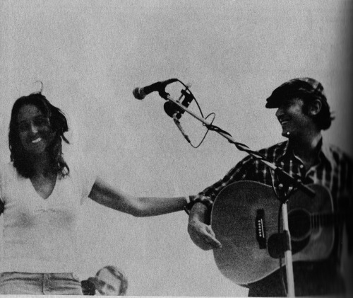 Phil Ochs & Joan Baez