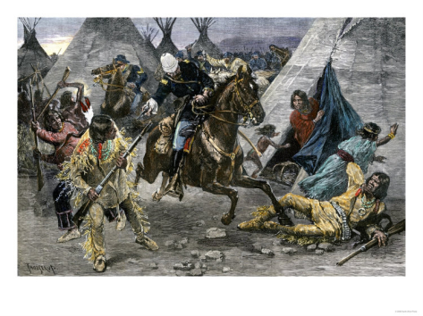 u-s-cavalry-attacking-a-sioux-indian-village-c-1800 i-G-22-2246-8K2ZD00Z